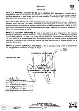 Photo of Decreto de restricción del parrillero hombre en Yopal