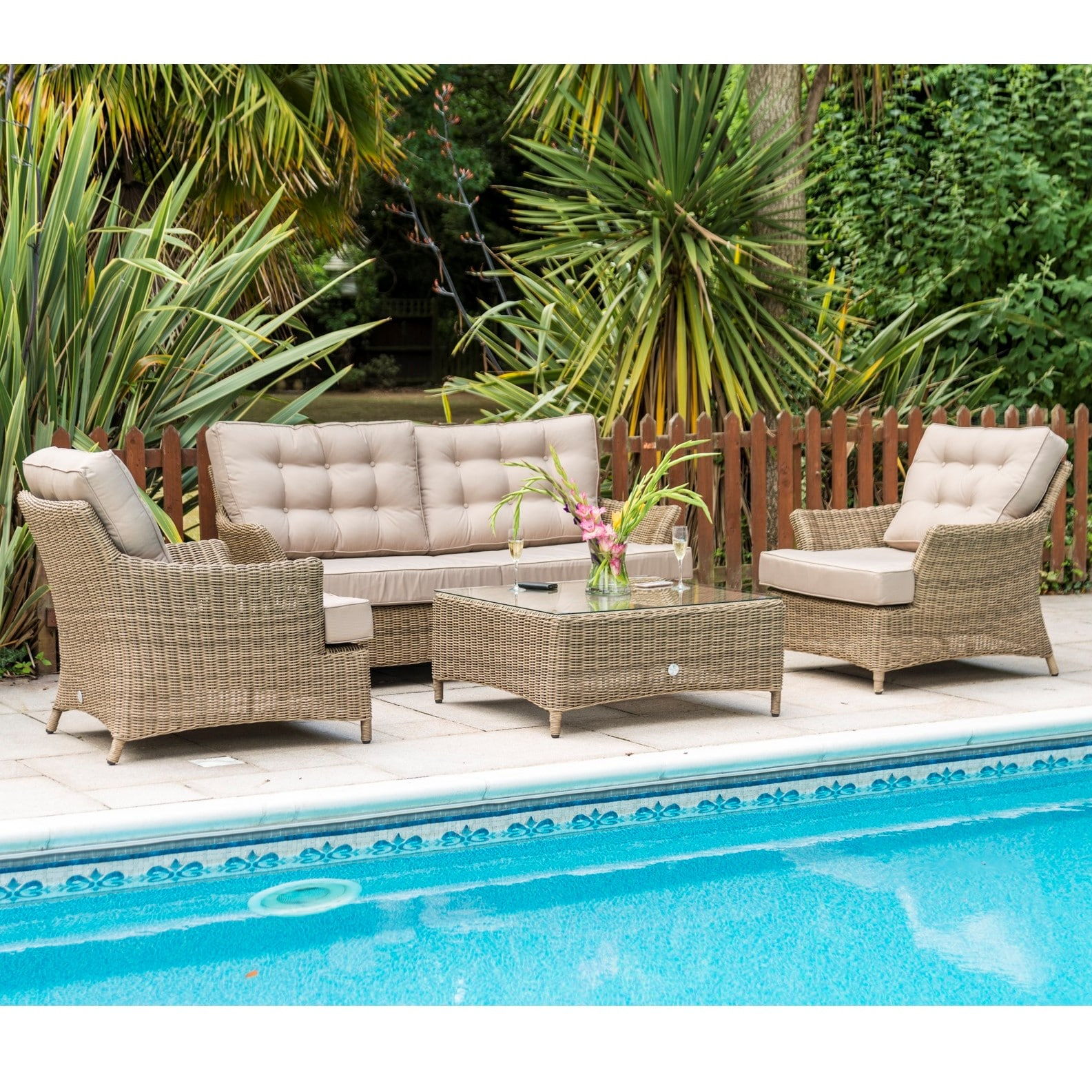 Mayberry Garden 4 Seat Set Sofa Set