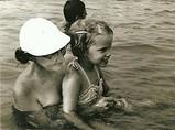 Toni and Grandma Mae Swimming