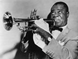 #jazzmusic - 1,000 Hours of Early Jazz Recordings Now Online: Archive Features Louis Armstrong, Duke Ellington & Much More - @Open Culture Artes & contextos 616px Louis Armstrong restored