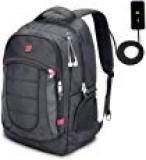 Amazon – XY Life Notebook Rucksack mit USB Ladeanschluss in 17 Zoll