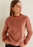 Mango VIP Sale z.B. Damen Kunstfell-Sweatshirt 60% reduziert