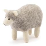 Muji.eu – Handgemachtes Schaf aus Wollfilz, Grau