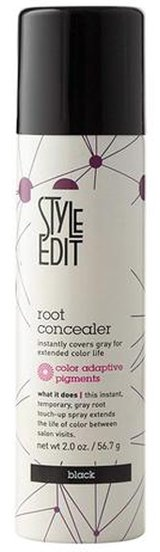 Dye hair roots - Style Edit Root Concealer Touch Up Spray | 40plusstyle.com