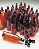 home brewing kits - beer bottles