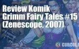 Review Komik Grimm Fairy Tales #15 (Zenescope, 2007)