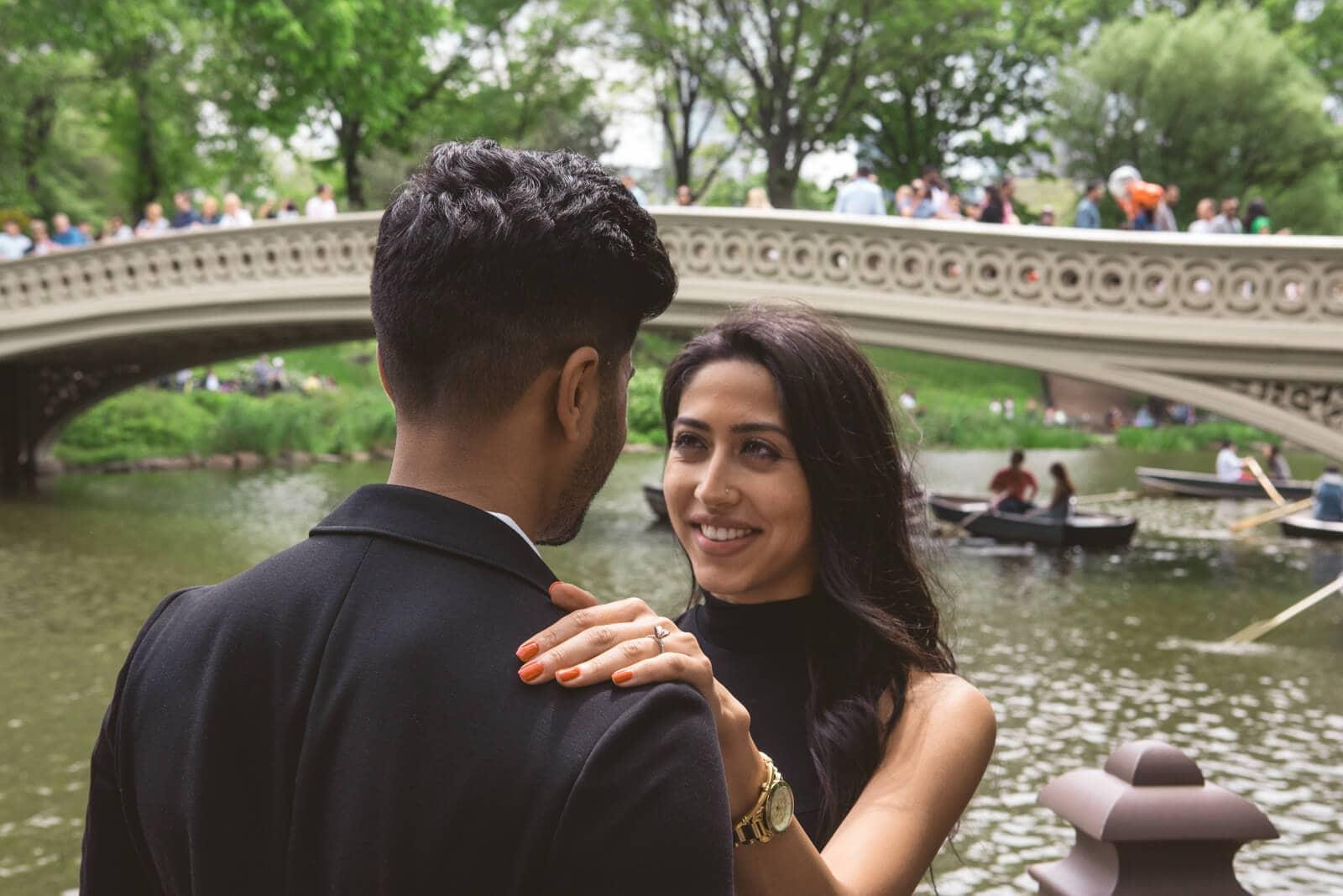 Bow Bridge view proposal in Central Park