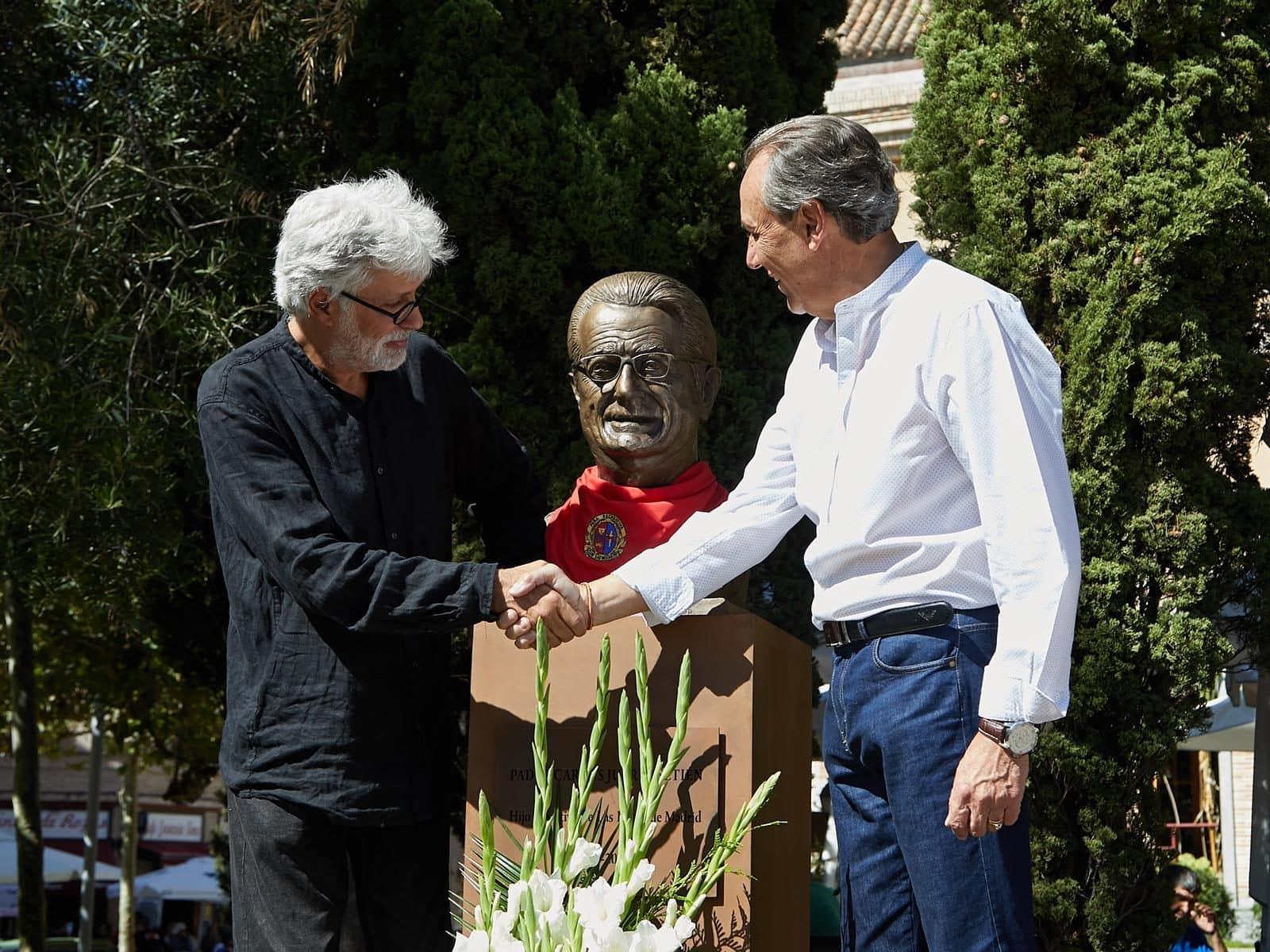 busto monumental en las Rozas