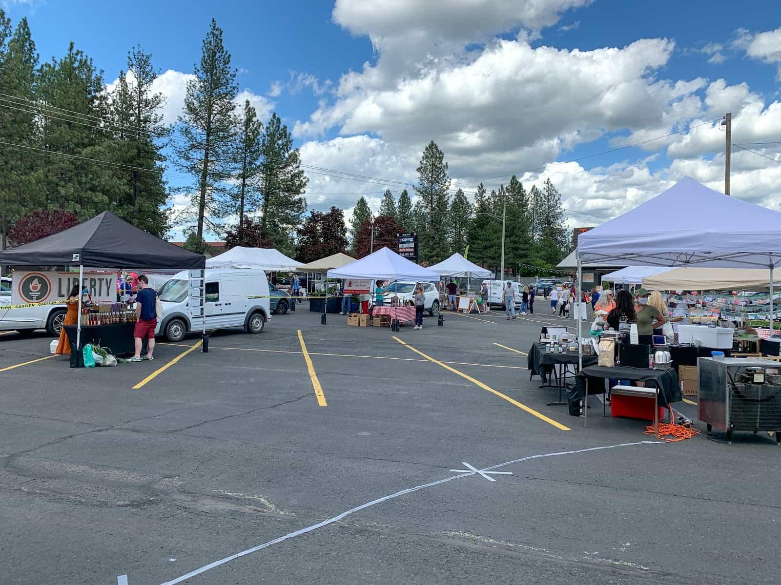 Spokane farmers markets