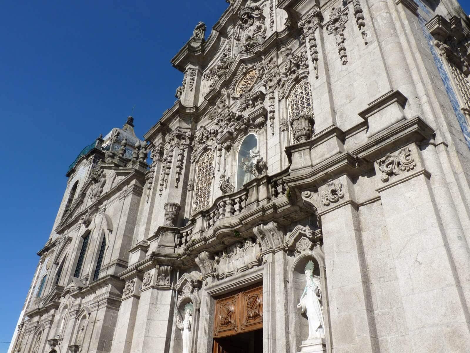 Igreja do Carmo 02 Porto Portugal Mundo Indefinido