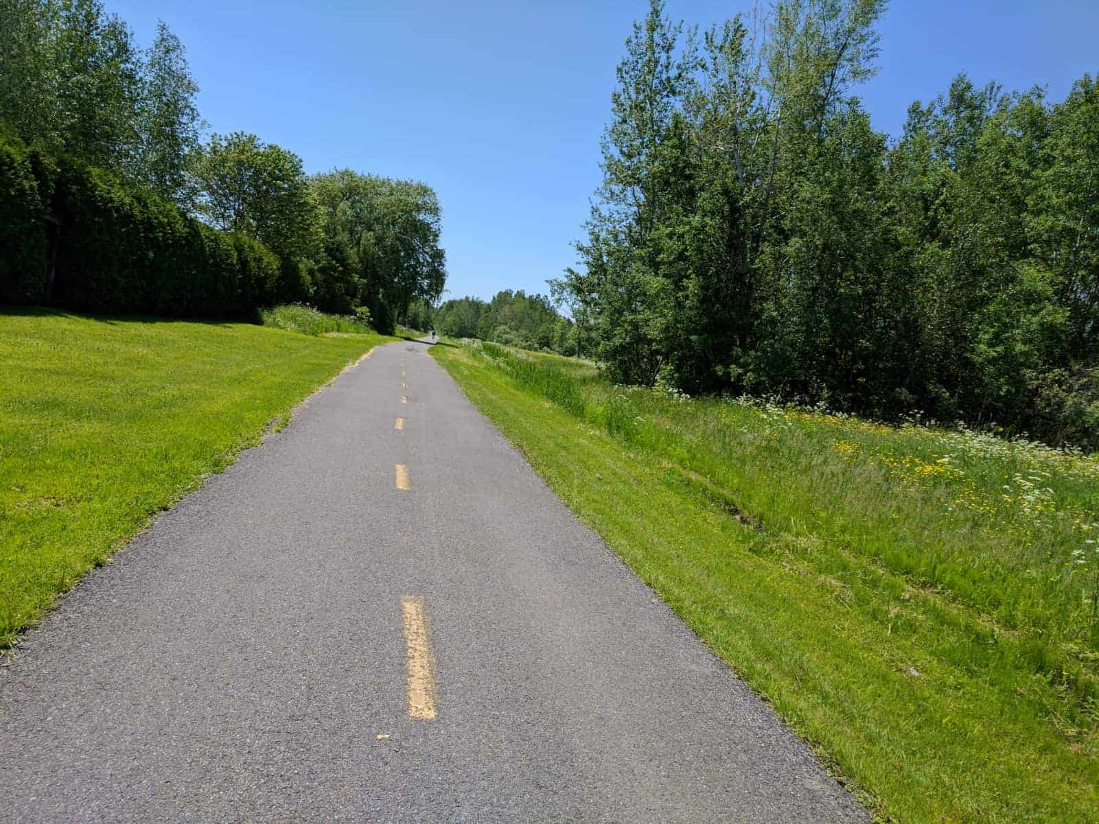 Bike Path to Fort Chambly