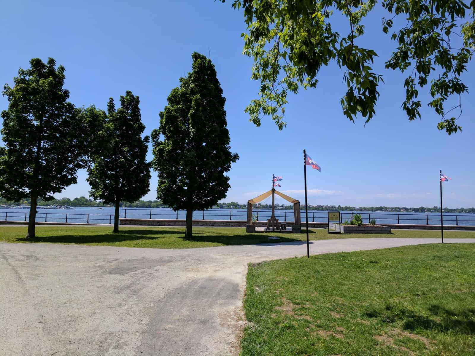 Bike to Historical Site close to Montreal