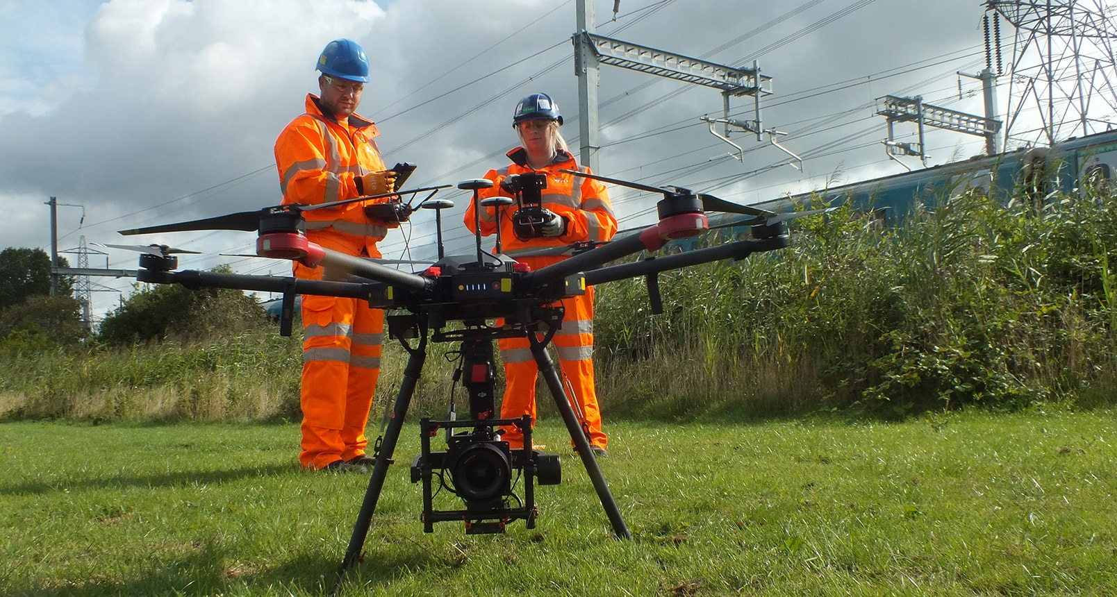 Railway UAV Surveys