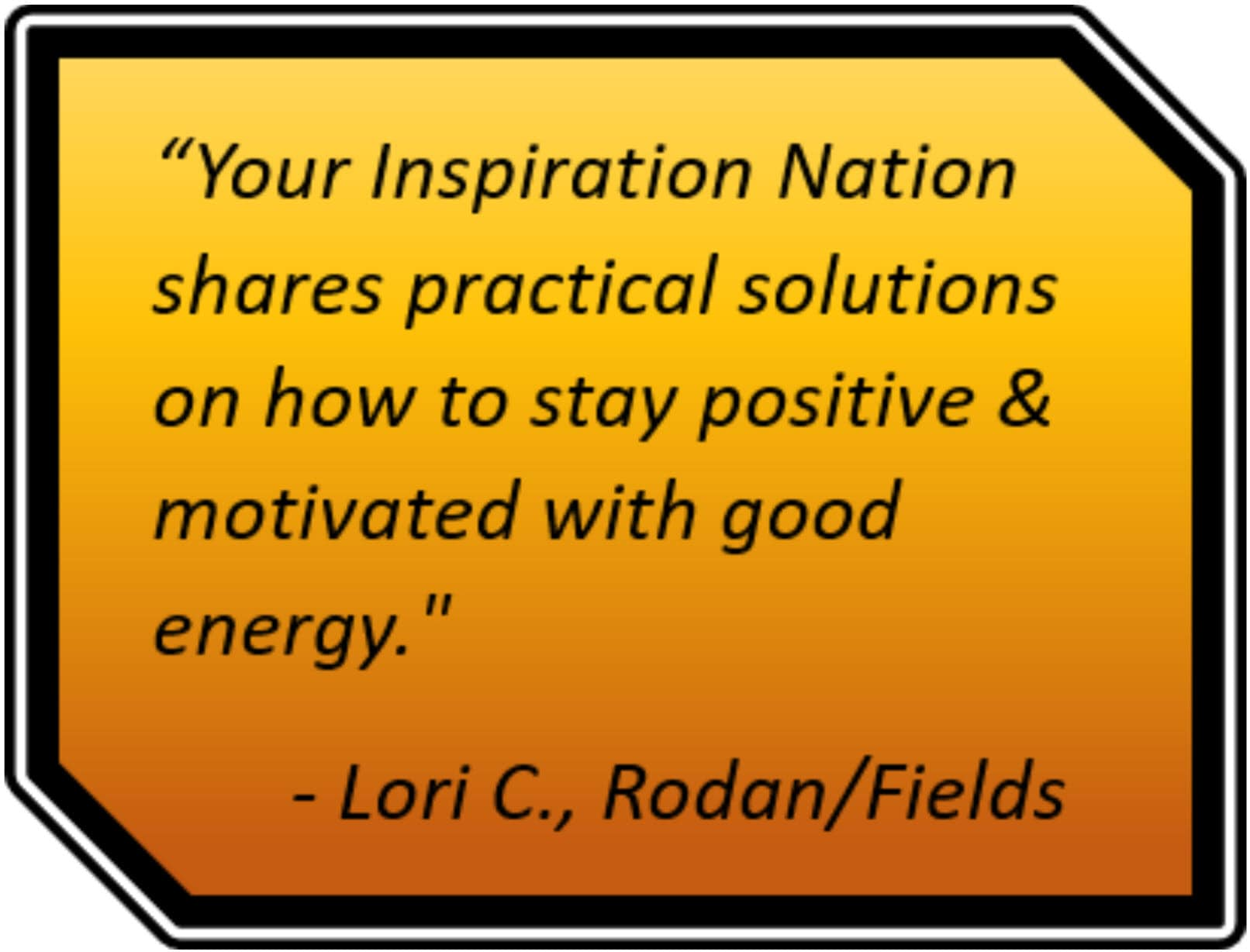 recommnedatio your inspiration nation