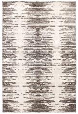 biało czarny dywan wycinany Shangri La Sunrise 7026