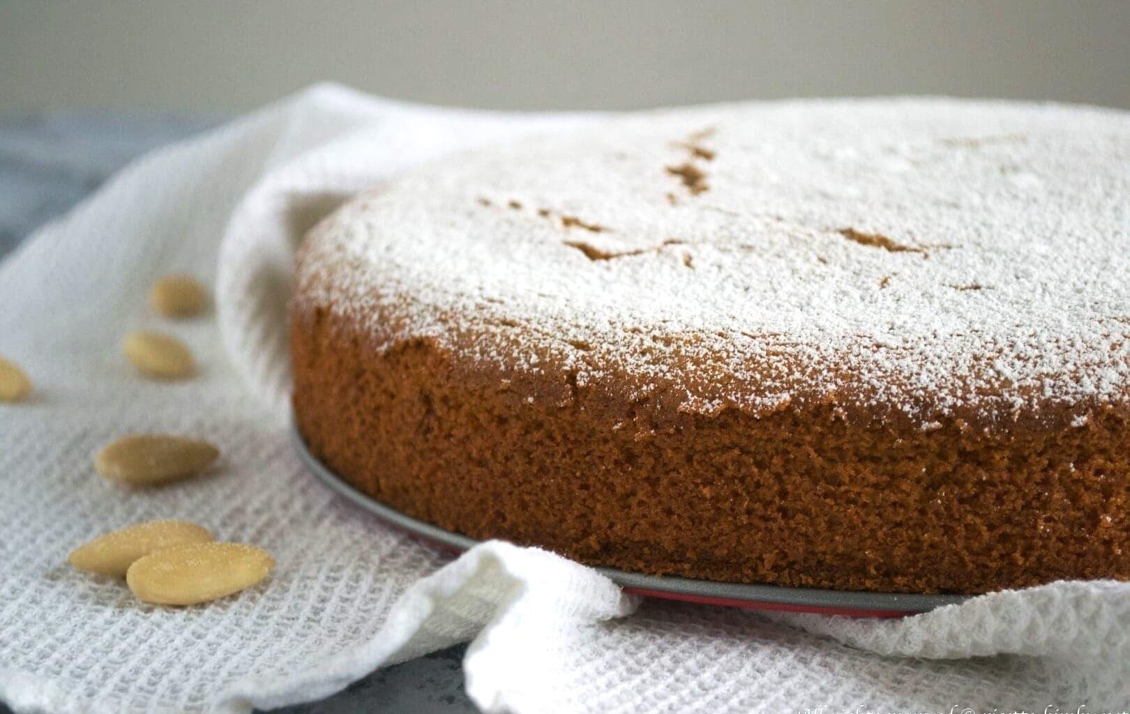 Torta limone e mandorle Bimby