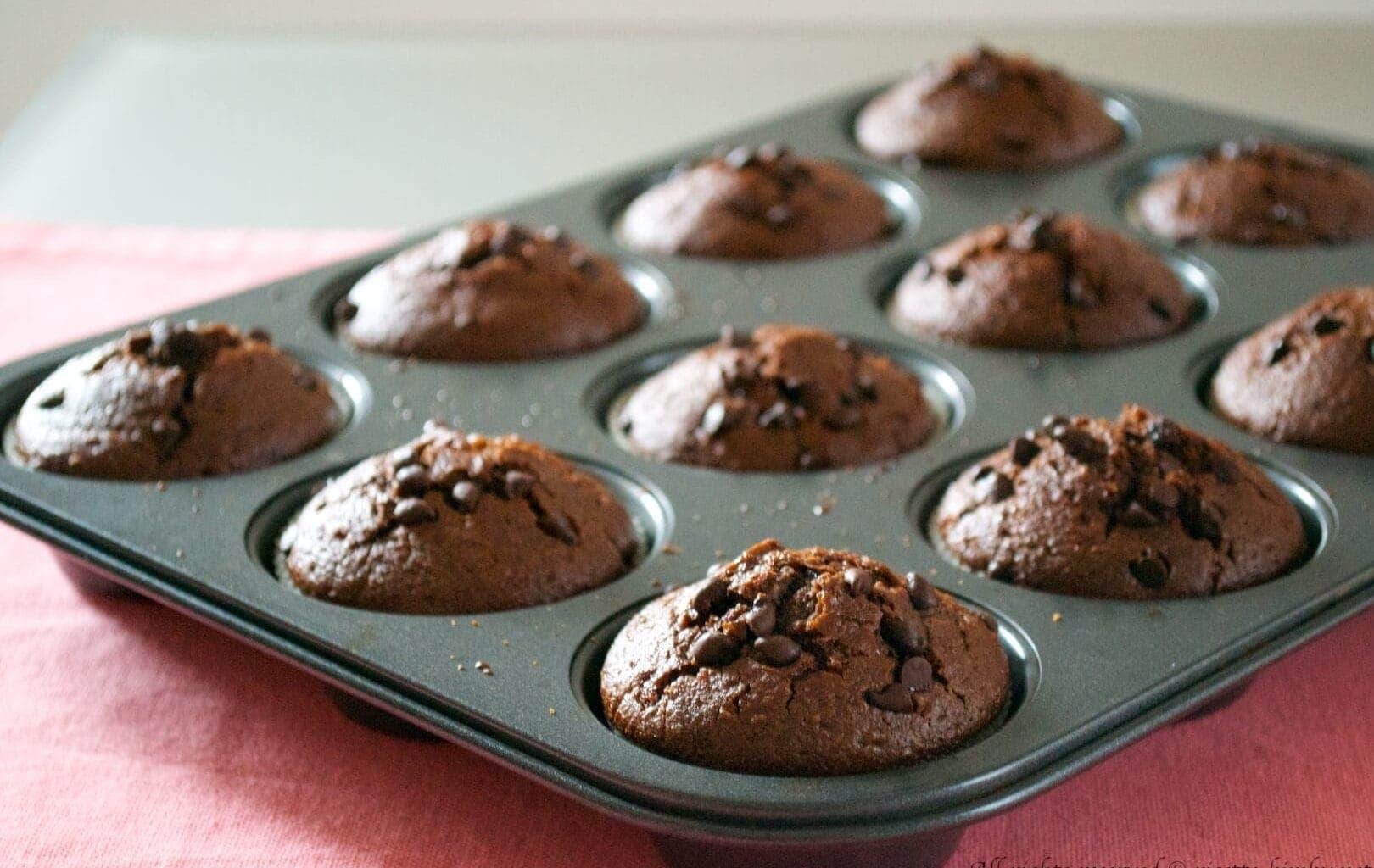 Muffin di segale e cioccolato Bimby