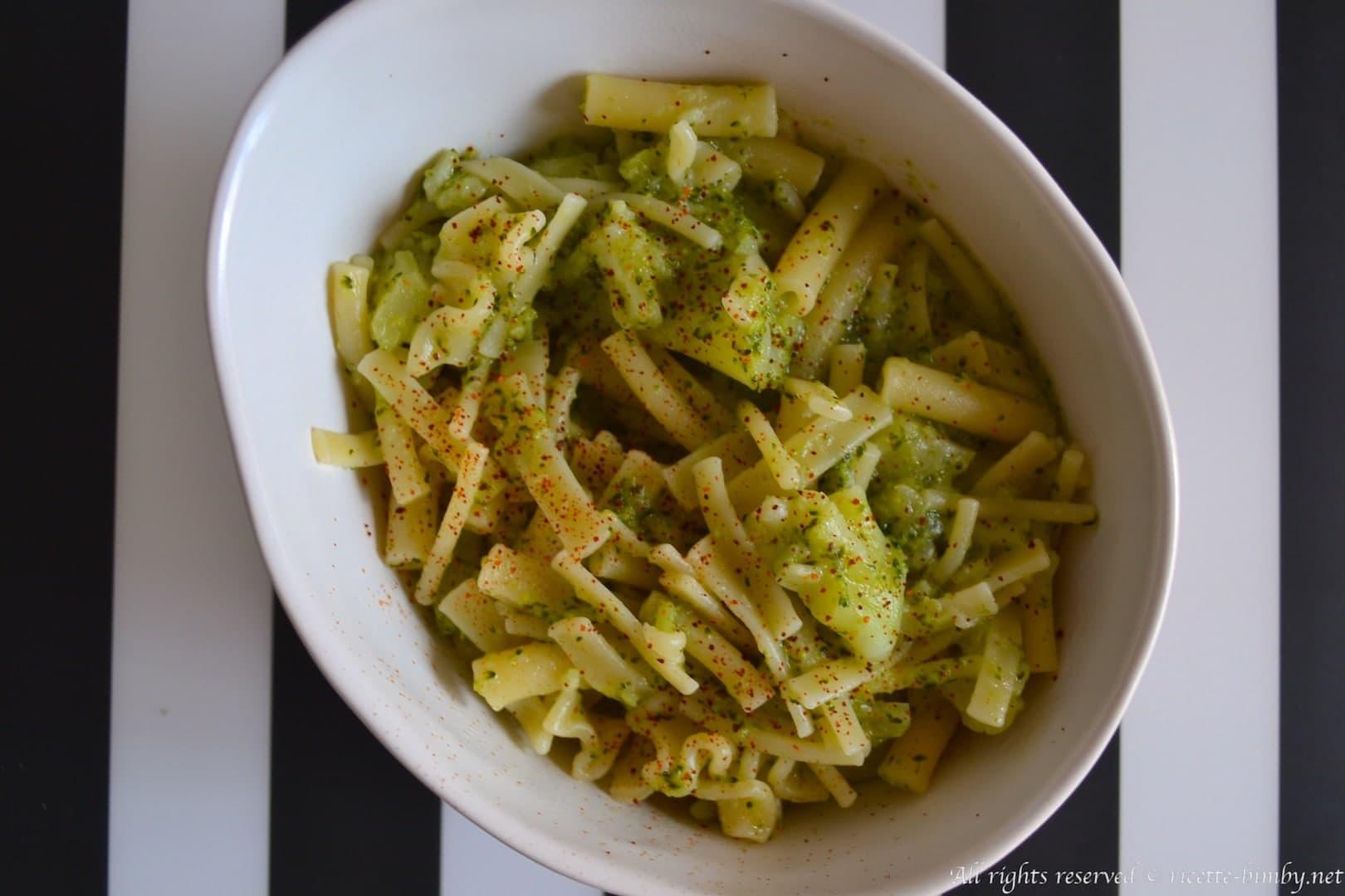 Pasta e broccoli bimby