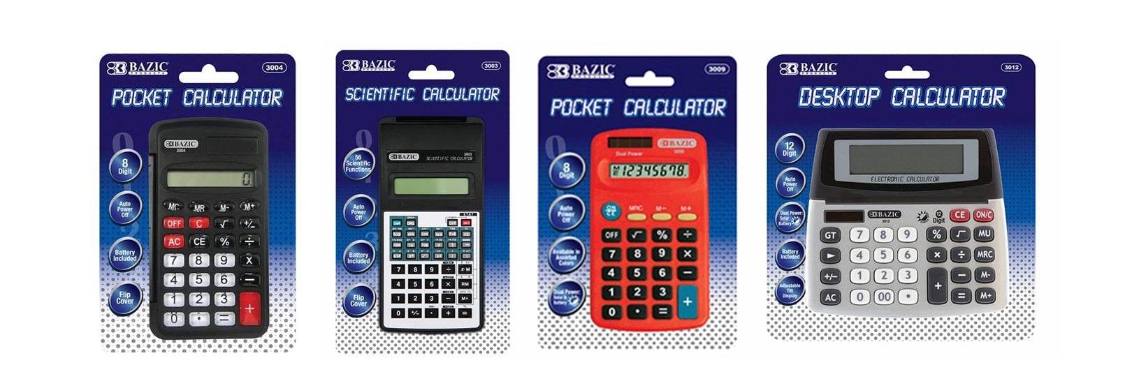 Calculators wholesale