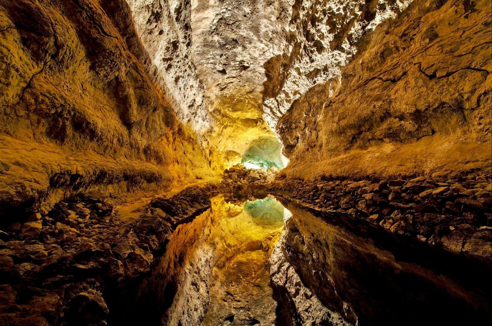 Cuevas de los Verdes, Lanzarote, Unterirdische Höhlen