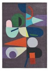 fioletowy dywan nowoczesny Estella Moonlight 878305