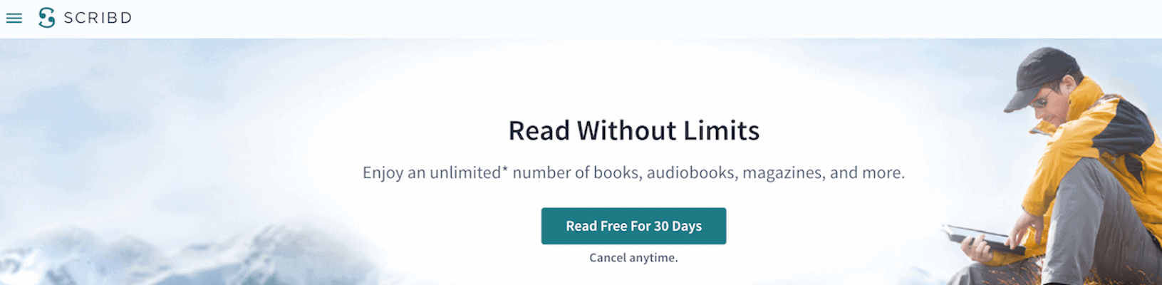 Scribd Unlimited Audiobook Subscription