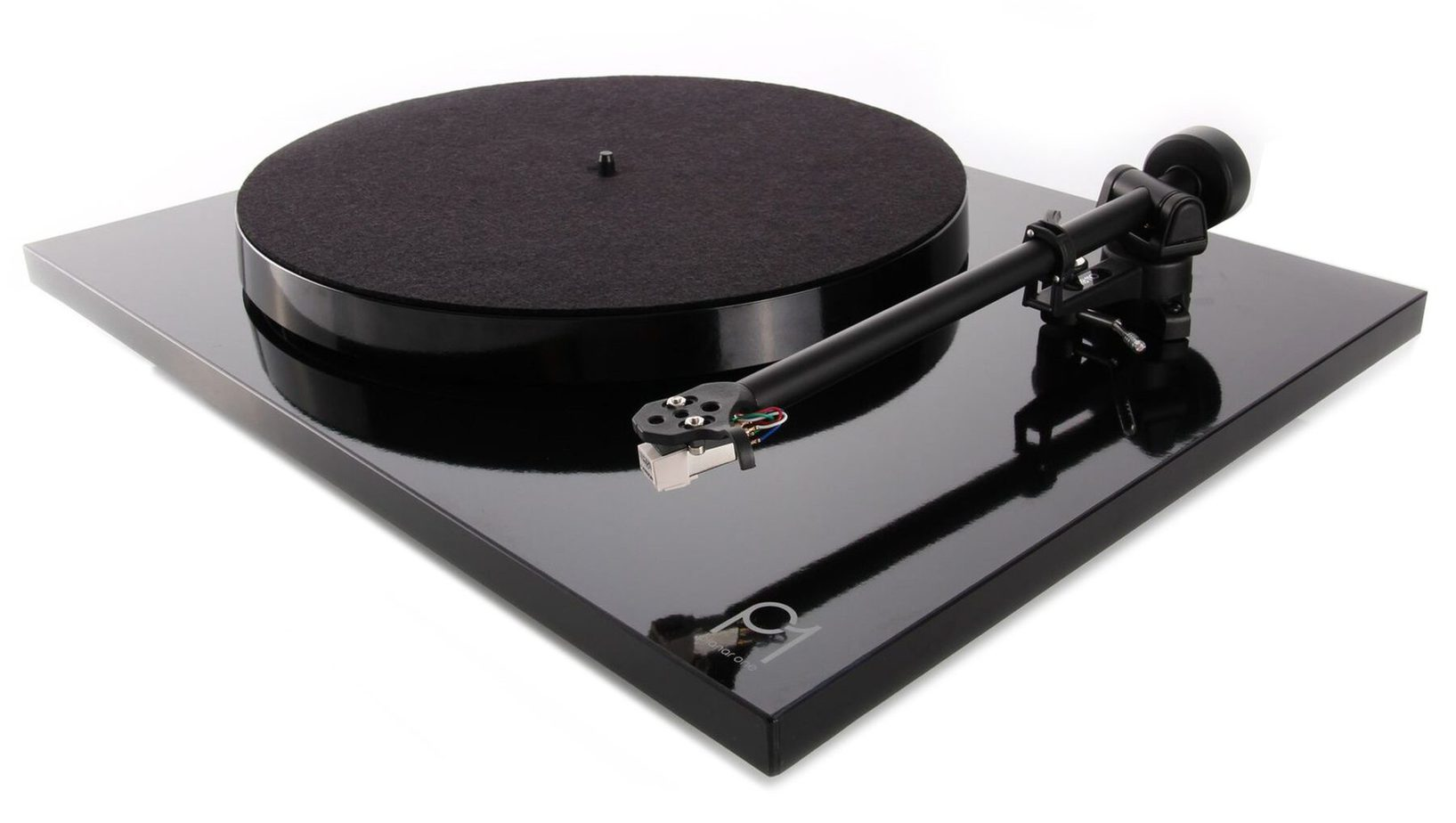 A plug and play turntable