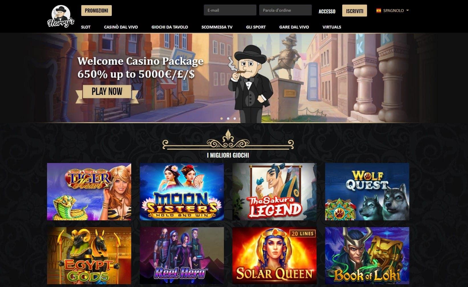 Harry's Casino lobby