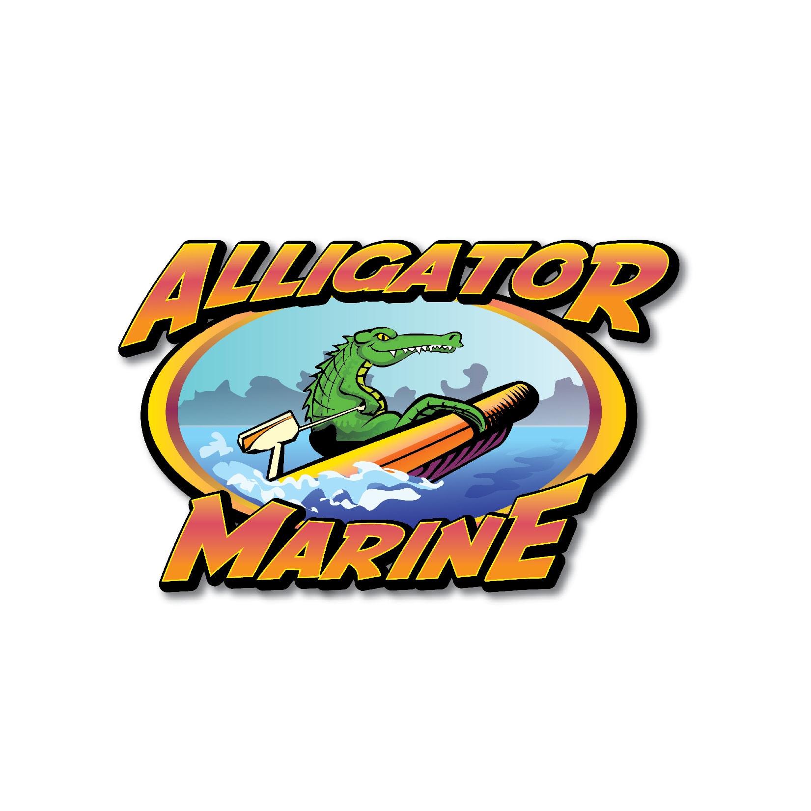 Alligator Marine Logo