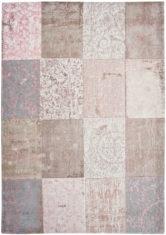 Dywan rozowy Patchwork pastelowy - Bolshoi Pink 8238