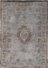 brązowo szary dywan klasyczny - Grey Ebony 8257