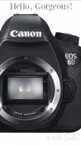 canon eos 6d camera body