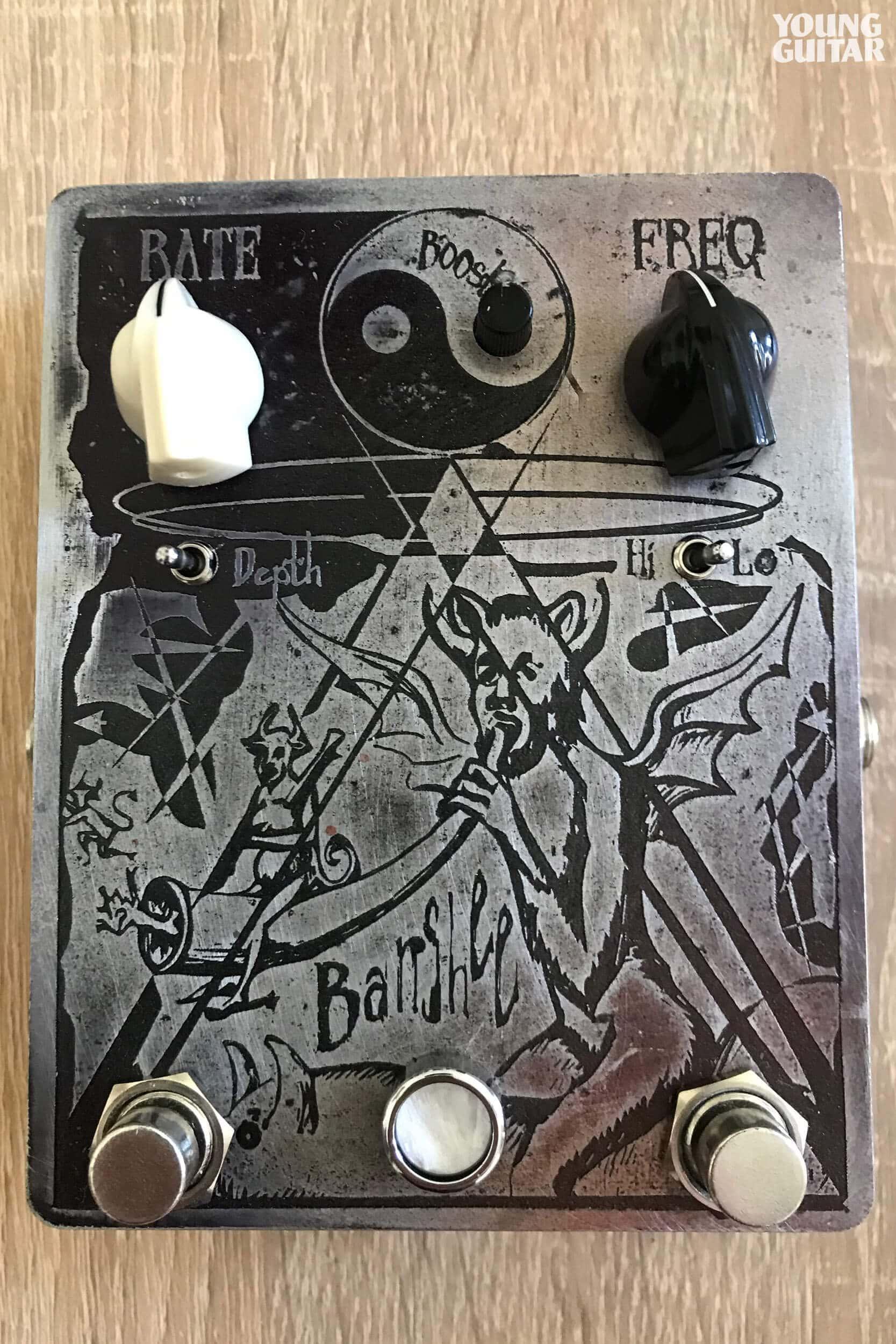 Kai Hansen - Custom Made Pedal: Banshee