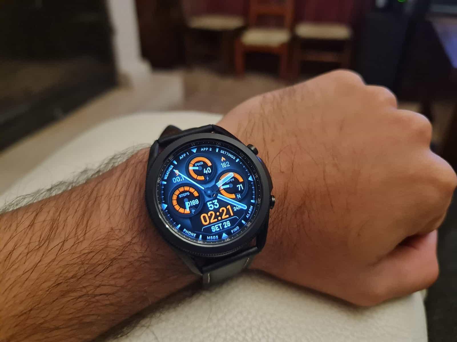 análise galaxy watch 3