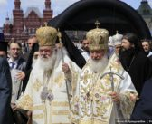 INFORMAL TALKS REPORTEDLY UNDERWAY BETWEEN RUSSIAN AND GREEK CHURCHES TO FIND SOLUTION TO CRISES