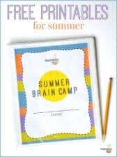 free printables for summer reading and learning