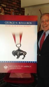 Silver Buffalo Awarded to George N. Boulukos