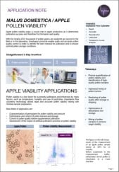 Picture of apple pollen application note