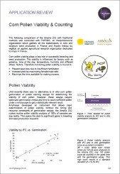 Corn Pollen Viability Application Review by Amphasys