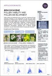 Pollen Analysis for Brassicaceae