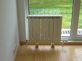 Подходящо място за поставяне на радиаторите
