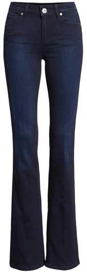 Paige bootcut jeans | 40plusstyle.com
