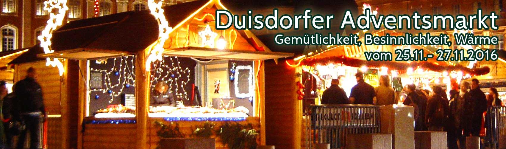 Duisdorfer Adventsmarkt 2016