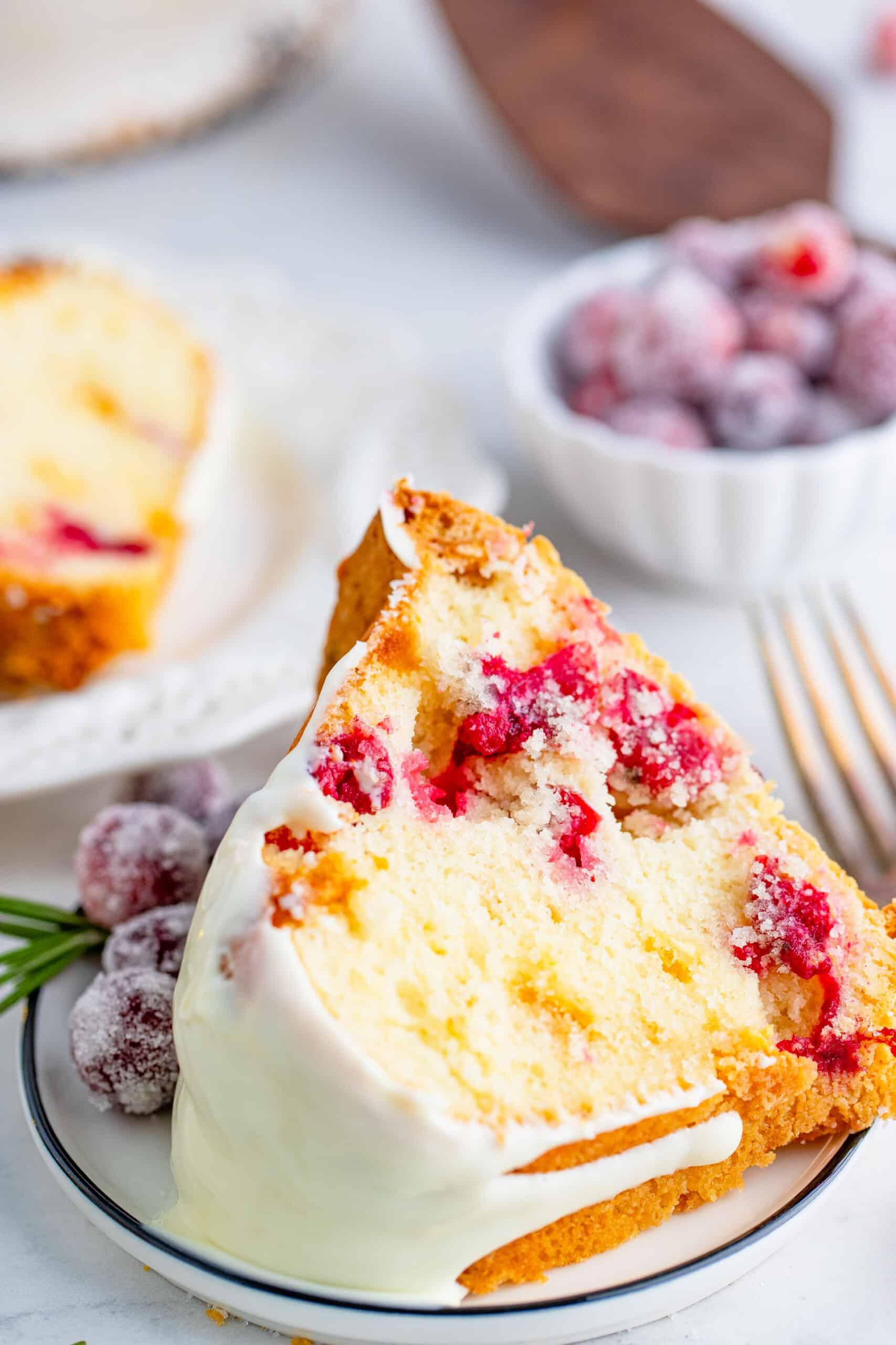 White Chocolate Cranberry Bundt Cake-43