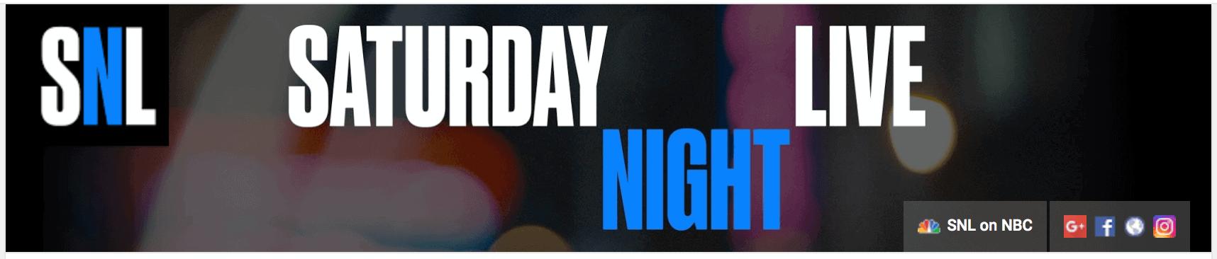 SNL youtube banner art example