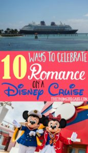The hubby and I just set sail on the Disney Wonder. Turns out a Disney cruise isn't just for kids or families. Here are 10 Ways To Celebrate Romance On A Disney Cruise.