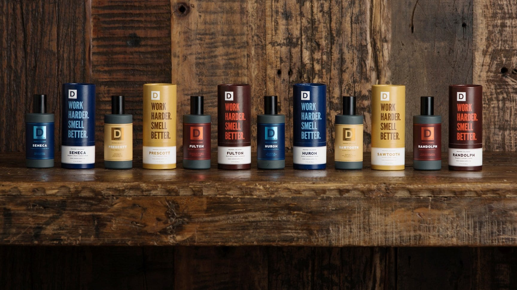 Duke Cannon Proper Cologne Collection