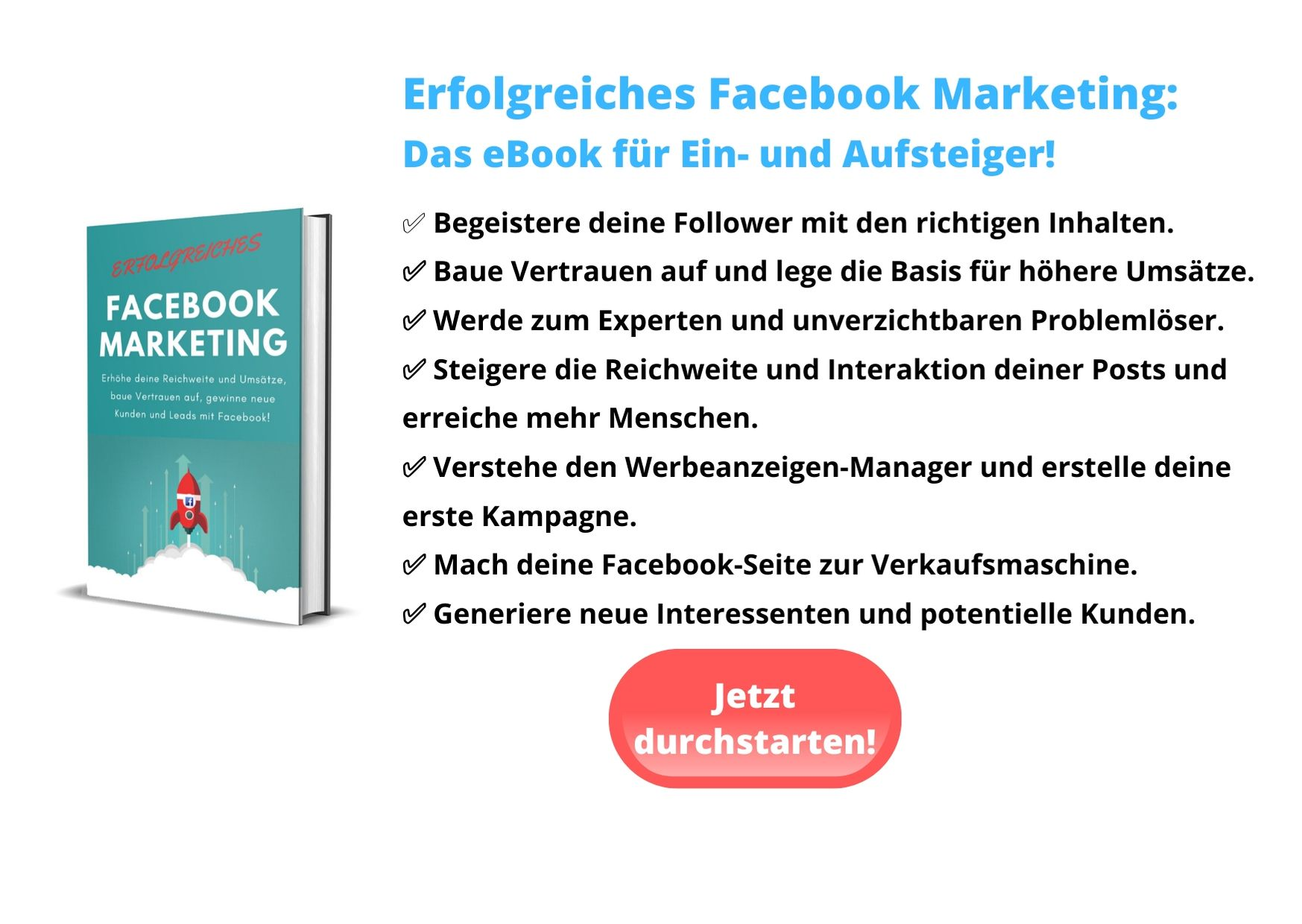 Facebook eBook Content Recycling