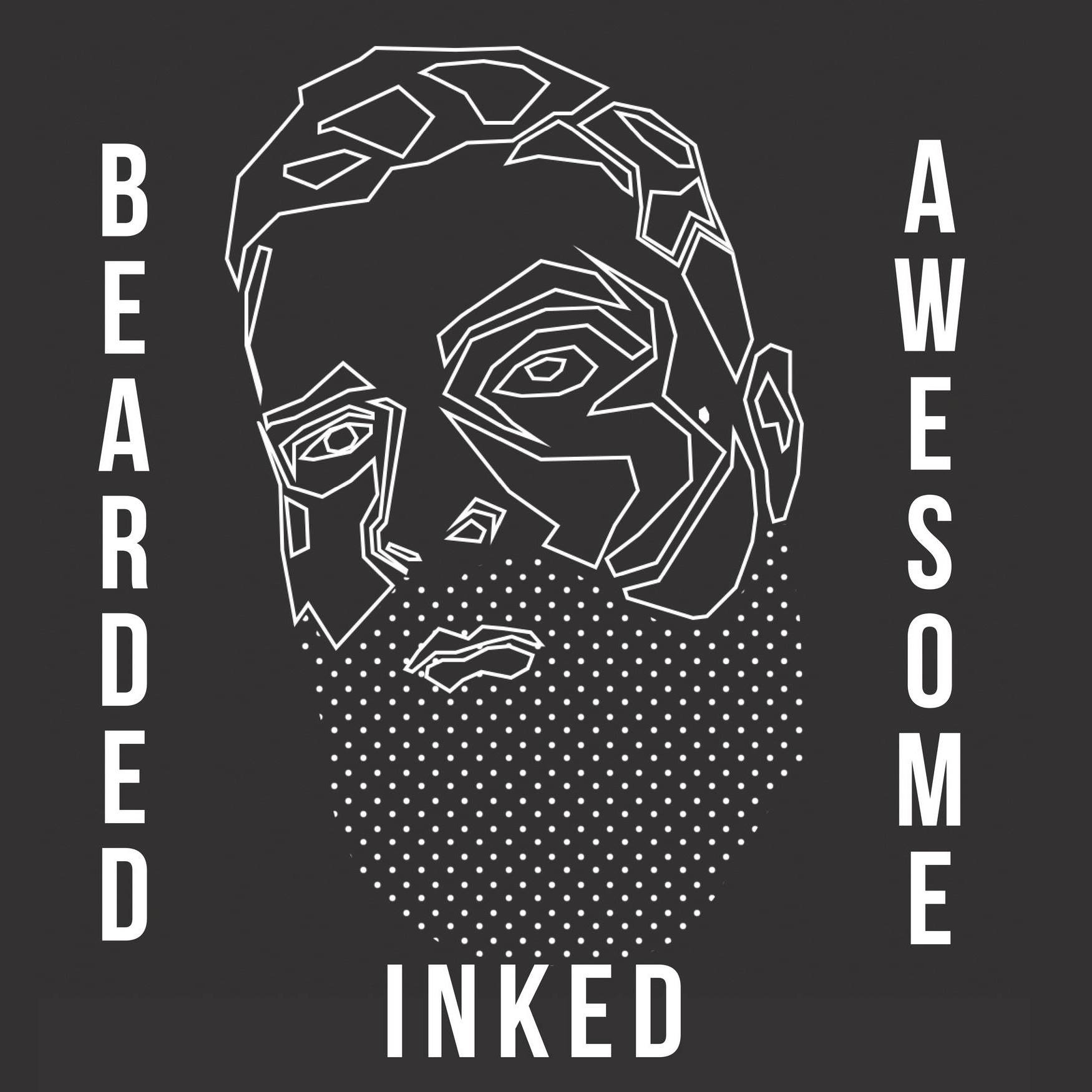 bearded inked and awesome