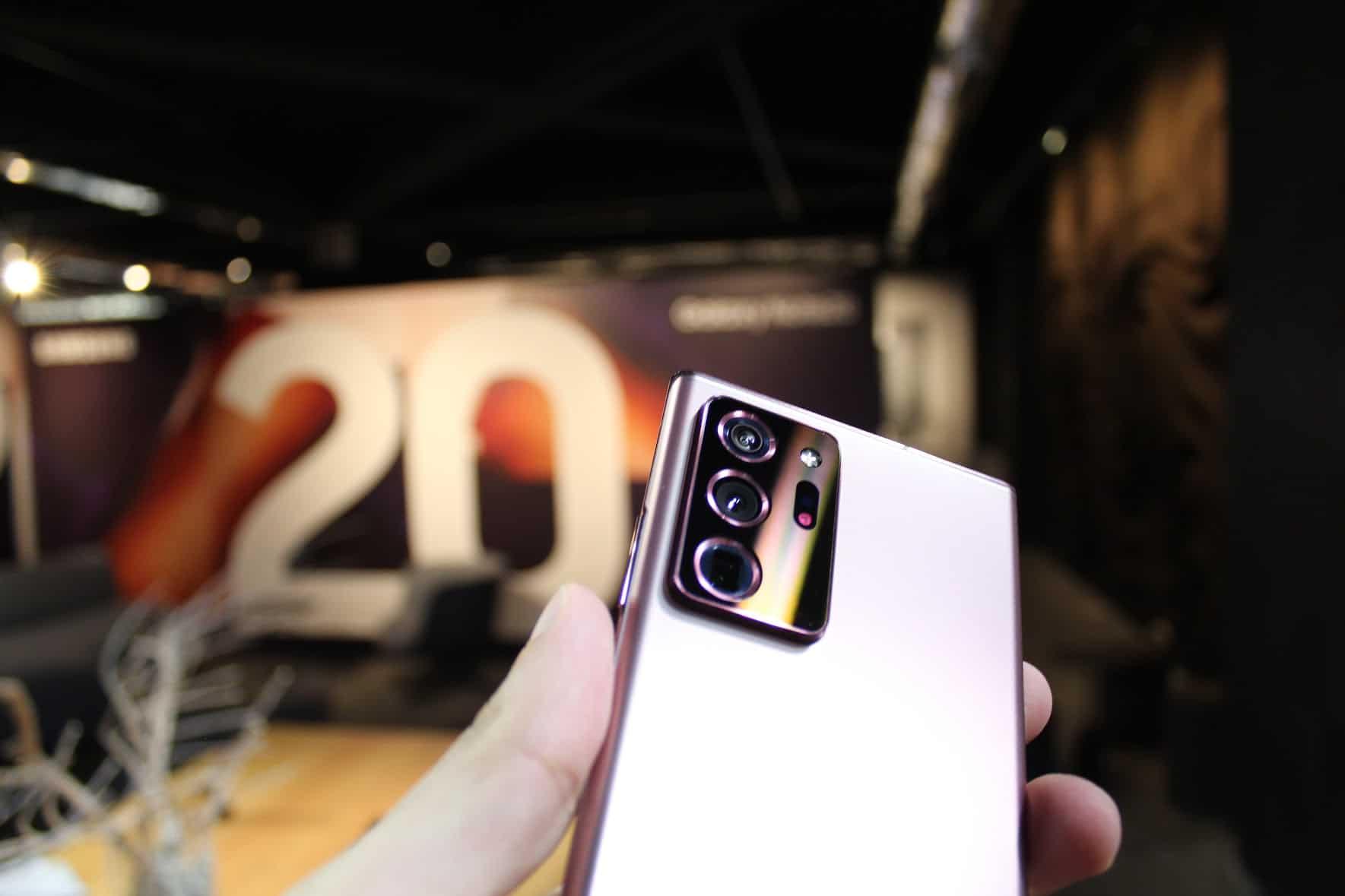 Note 20 Ultra câmaras